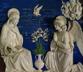 Annunziatione by Andrea della Robbia