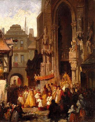 Corpus Christi Procession by Doepler