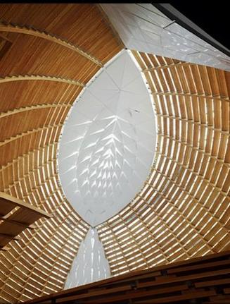interior, Cathedral of Christ the Light, Oakland, California, U.S.A.
