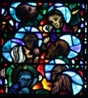 picture of a window from Grace Epiphany Church