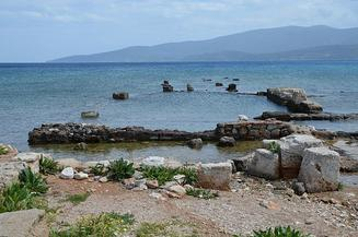 site of one of ancient Corinth's seaports