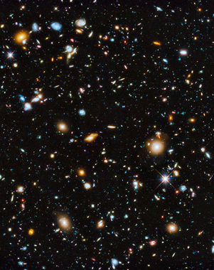 picture by NASA from the Hubble telescope