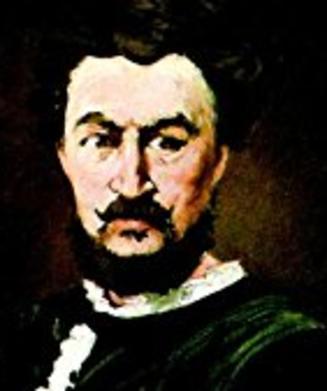 Manet, The Tragic Actor (detial)