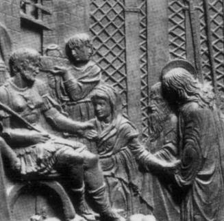 Donatello's Christ Before Pilate