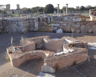 baptistry in ancient Philippi