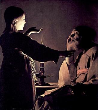 Georges de la Tour, The Dream of St. Joseph, c. 1628-1645, Musée des Beaux-Arts de Nantes