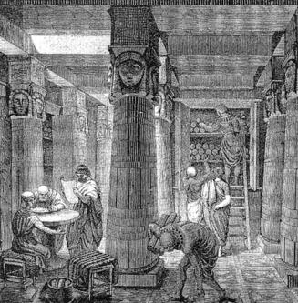 Library of ancient Alexandria