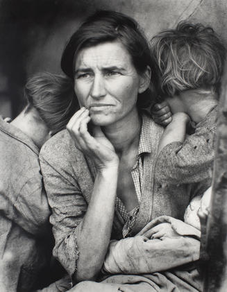 Dorothea Lange, American, 1895–1965; Migrant Mother, Nipomo, California