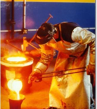 refining silver in fire