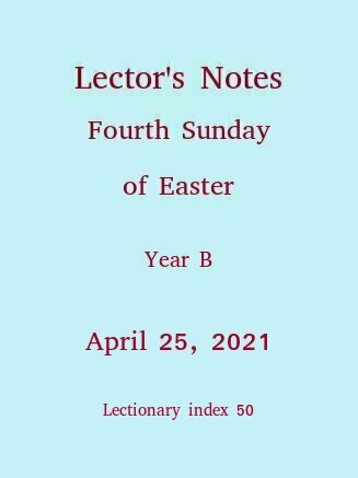 Lector's Notes,